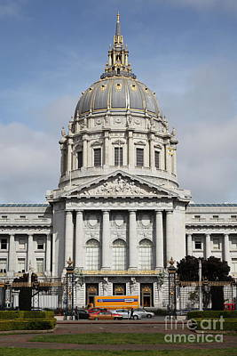 San Francisco City Hall 5d22563 Poster by Wingsdomain Art and Photography