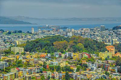 San Francisco - Scenic Cityscape Poster by Ben and Raisa Gertsberg