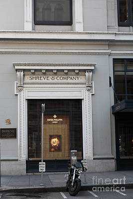 San Francisco Shreve Storefront - 5d20583 Poster by Wingsdomain Art and Photography