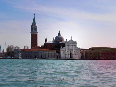 San Giorgio Maggiore Venice Poster by Pat Cannon