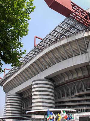 Inter Milan Poster featuring the photograph San Siro by Rjd Photography