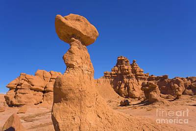 Sandstone Hoodoos Goblin Valley Utah Poster by