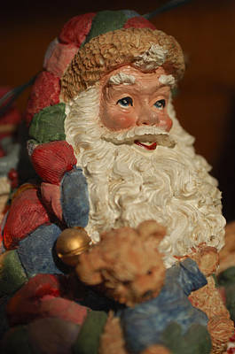 Santa Claus - Antique Ornament - 09 Poster by Jill Reger