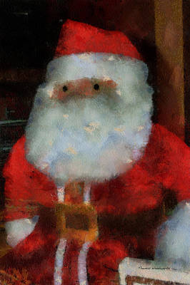 Santa Photo Art 13 Poster by Thomas Woolworth
