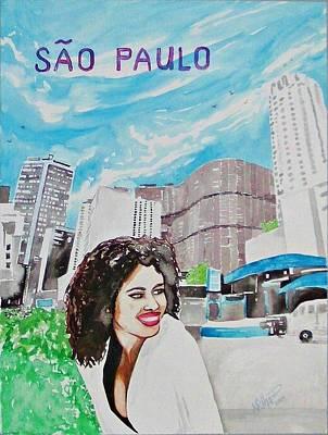 Sao Paulo 2009 Poster by Ken Higgins