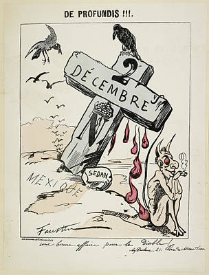 Satirical Caricature Poster by British Library