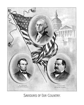 Saviours Of Our Country  Poster by War Is Hell Store