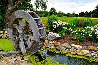 Sawmill Creek Poster by Frozen in Time Fine Art Photography
