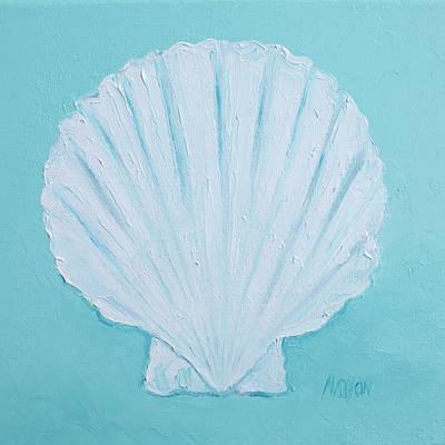 Scallop Shell Poster by Jan Matson
