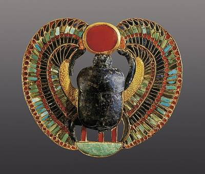 Scarab Pectoral. 1361 -1352 Bc. It Poster by Everett