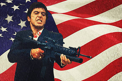 Scarface Poster by Taylan Soyturk