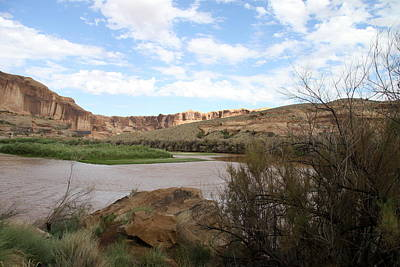 Scenic Upper Colorado River Poster by Christiane Schulze Art And Photography