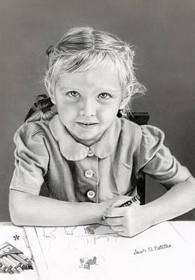 School Days 1948 Poster by Sarah Batalka