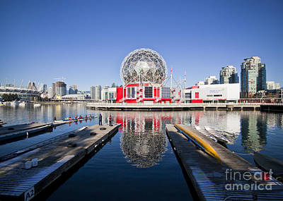 Science World Vancouver Poster by Chris Dutton