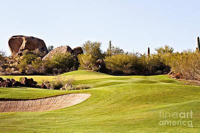 Scottsdale Golf Poster by Scott Pellegrin