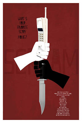 Scream Alternative Poster Poster by Edgar Ascensao