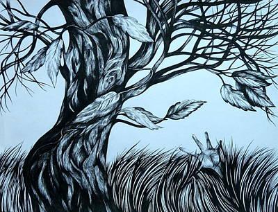 Scream Poster by Anna  Duyunova