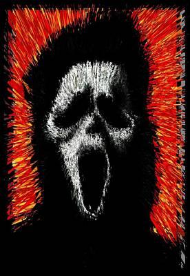 Scream Poster by Brett Sixtysix