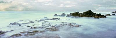 Sea At Dawn, Las Rocas Beach, Baja Poster by Panoramic Images