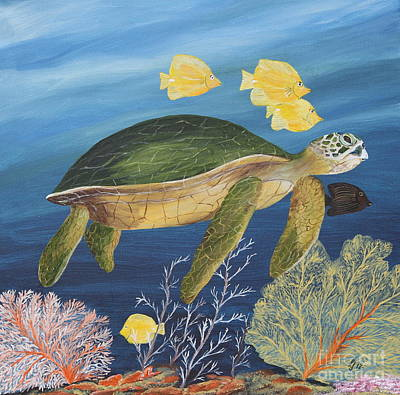 Sea Life Poster by Christiane Schulze Art And Photography