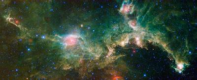 Seagull Nebula Poster by Celestial Images