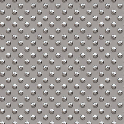 Seamless Metal Texture Rhombus Shapes 2 Poster by REDlightIMAGE