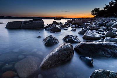 Seascape Twilight Poster by Pierre Leclerc Photography