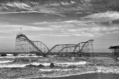 Seaside Heights - Jet Star Roller Coaster Poster by Niday Picture Library