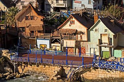 Seaside Village In Malta Poster by Tim Holt