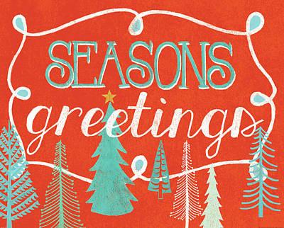 Seasons Greetings Poster by Mary Urban