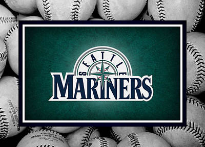 Seattle Mariners Poster by Joe Hamilton