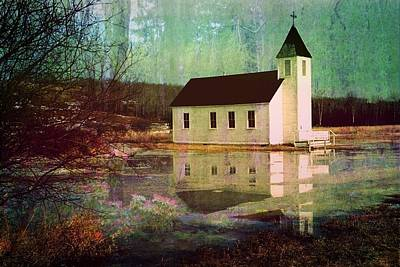 Secluded Sanctum  Poster by Shirley Sirois