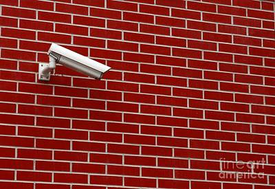 Security Camera Poster by Peter Gudella