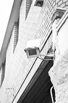 Security Camera Poster by Tom Gowanlock