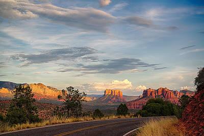 Sedona Arizona Allure Of The Red Rocks - American Desert Southwest Poster by Silvio Ligutti