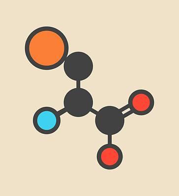 Selenocysteine Amino Acid Molecule Poster by Molekuul