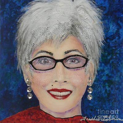 Self Portrait Poster by Freddie Lieberman