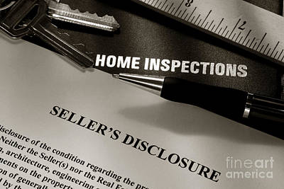 Seller Disclosure Poster by Olivier Le Queinec