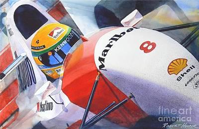 Senna Poster by Robert Hooper