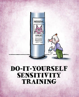 Sensitivity Training Poster by Mark Armstrong