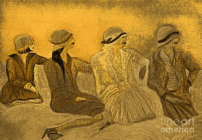 Sepia Hats By Jrr Poster by First Star Art