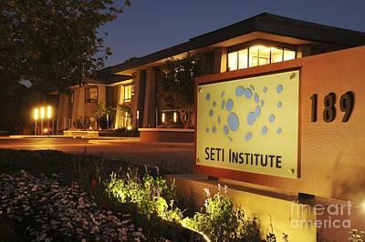 Seti Institute Entrance Poster by Dr Seth Shostak