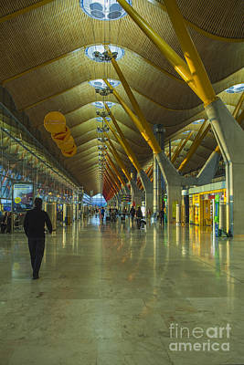 Seville Airport Poster by Patricia Hofmeester
