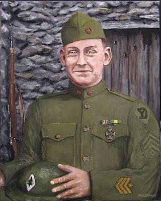 Sgt Sam Avery Poster by Jack Skinner