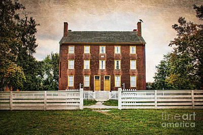 Shaker Village  Poster by Darren Fisher