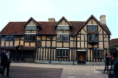 Shakespeare's Birthplace Poster by Terri Waters