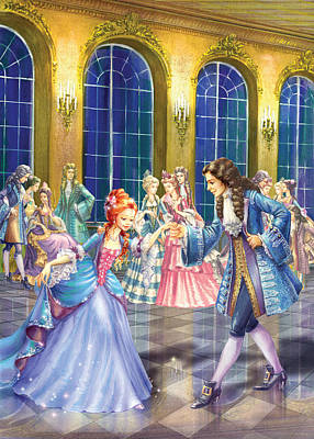 Shall We Dance Poster by Zorina Baldescu