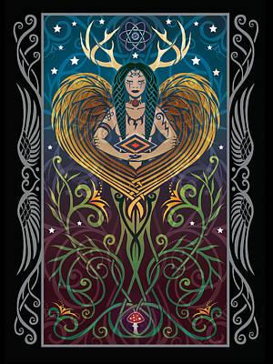 Shaman V.2 Poster by Cristina McAllister