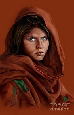 Sharbat Gula Poster by Reggie Duffie