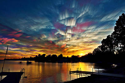 Shattered Rainbow Poster by Matt Molloy